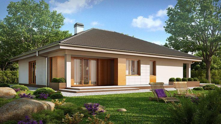 Projekt domu SZ5 Z209 - DOM OZ5-36 - gotowy projekt domu