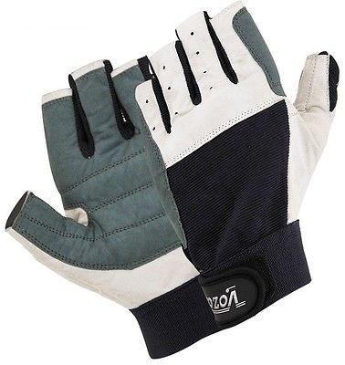 Amara #leather #sailing gloves/yachting gloves/boat rope #gloves/cut finger,  View more on the LINK: http://www.zeppy.io/product/gb/2/141845594576/
