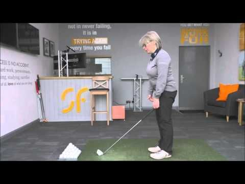 Setting up this far from the ball will help your golf swing - YouTube