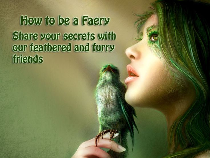 This week's How To Be a Faery. #Arach #Fantasy #howtobeafaery #Faeries