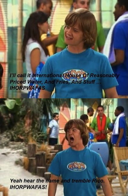 I'm sorry, but Hannah Montana was funny because of this guy and her dad. It was worth it.