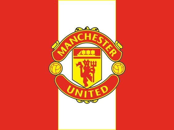 Manchester United flag like picture. Was a download wallpaper on my phone, as with many other ones I have.