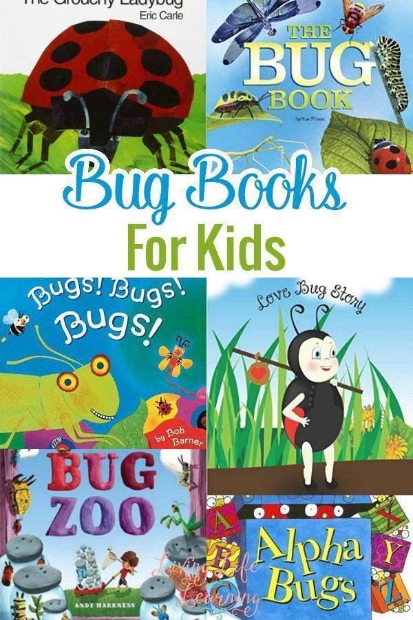 Bug Books for Kids | Books for Kids | Preschool books