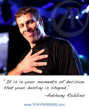 My hero: Tony Robbins