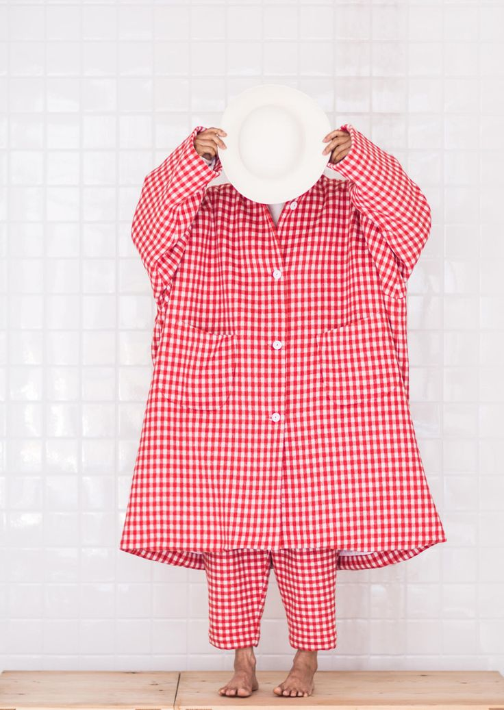 egg | cashmere, oversized outfit,fashion, contemporary, editorial, red, white
