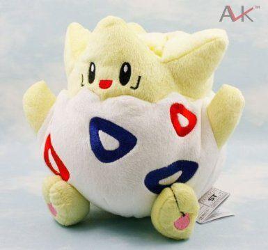 Pokemon Togepi Soft Plush Stuffed Doll Toy (18cm): Amazon.co.uk: Toys & Games