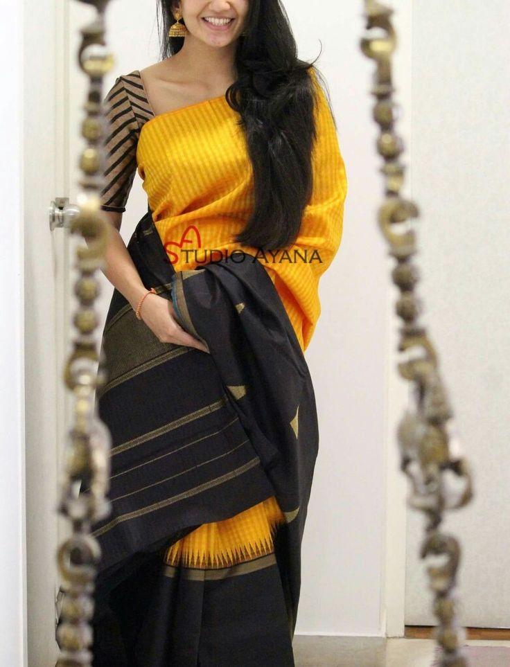 Refreshingly amazing Saree -Blouse combo.
