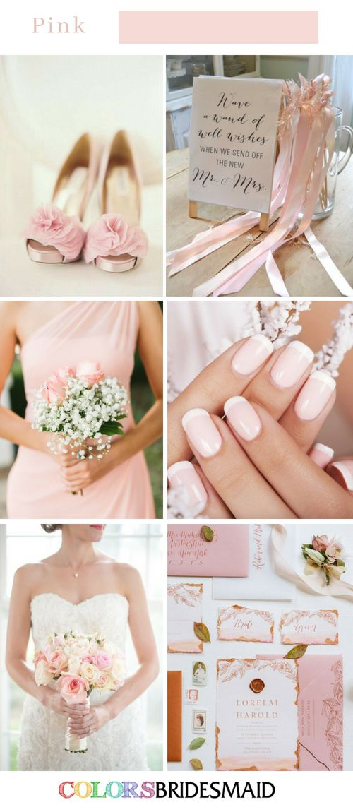 Fall Wedding Colors with Pink – 8 Perfect Combinations