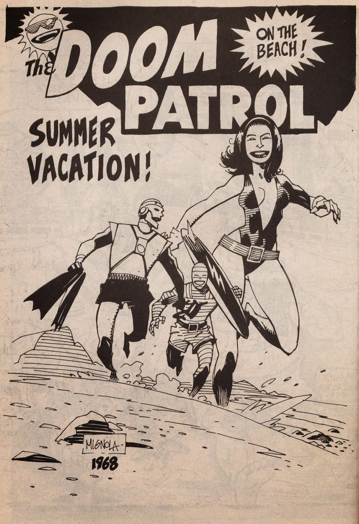 Doom Patrol ♥ Mike Mignola