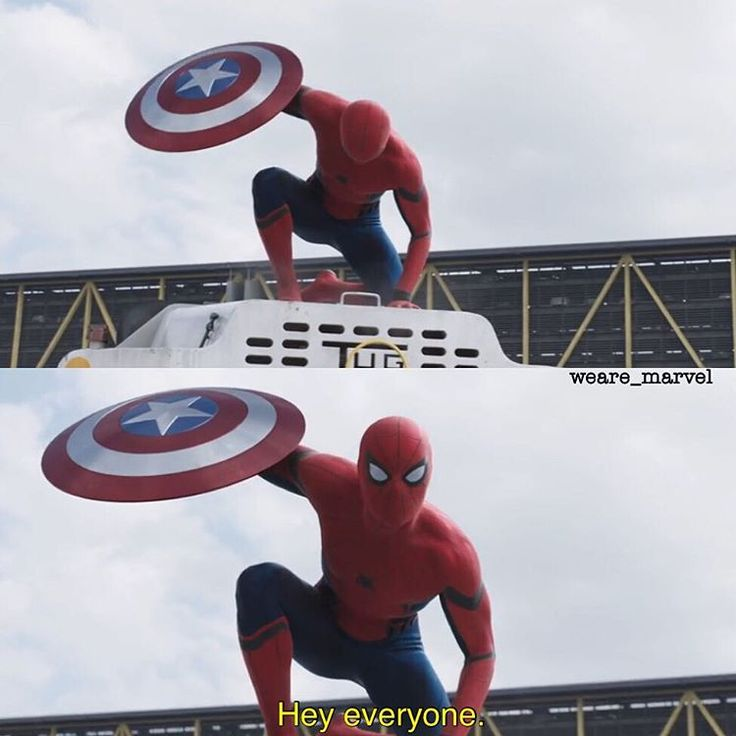 Captain America: Civil War: Spiderman - Man, I'm so excited to see spidey again