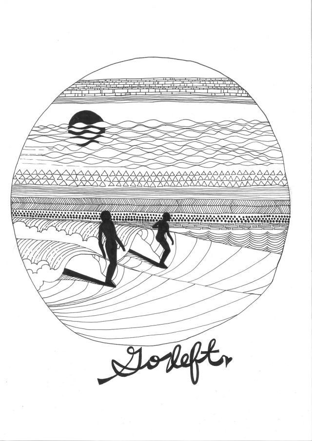 Drawing Lines Surf Movie : Best surf art images on pinterest