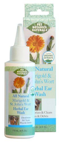 Cardinal Laboratories Pet Botanics Naturals Herbal Ear Wash, Marigold/St. Jon's Wort, 4 Ounces * Be sure to check out this awesome product.