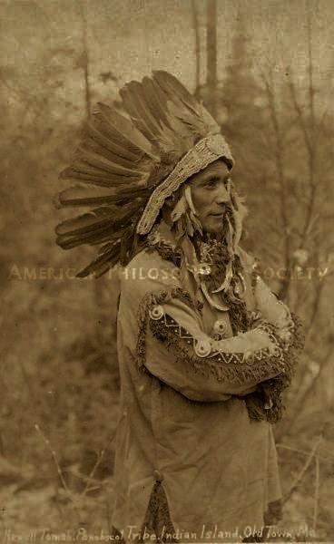 Newell Tomah - Penobscot - circa 1910