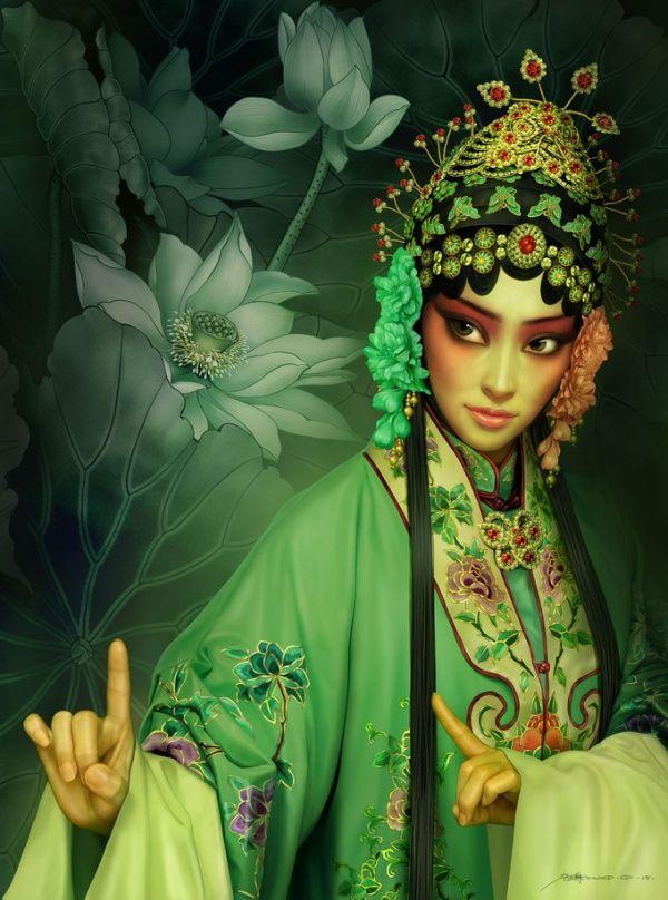 CG Arte por Tang Yuehui | Escaparate de Arte y Diseño