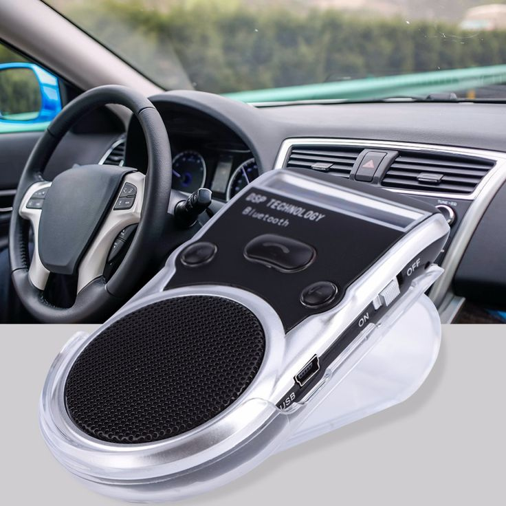 ==> [Free Shipping] Buy Best Mini Bluetooth 4.0 Speaker Solar Powered Bluetooth Car Kit Support LCD Display Handfree Calling Online with LOWEST Price | 32817103963