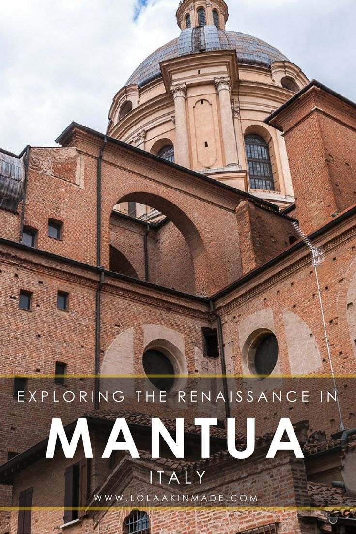 A visual guide to exploring history, art and culture in the beautiful town of Mantua, Italy. Full of old world charm and breathtaking churches, palaces and homes, Mantua is a town perfect for wandering. Travel in Italy. | Geotraveler's Niche Travel Blog#Italy #Europe