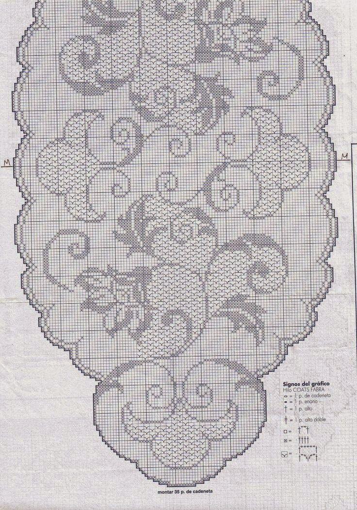 centro ovale | Hobby lavori femminili - ricamo - uncinetto - maglia