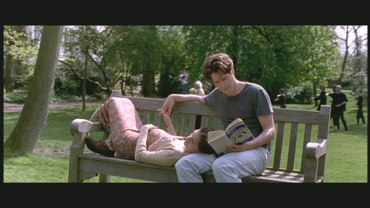 Notting Hill - great quirky characters make this romantic comedy better than average - sweet, sweet ending shot