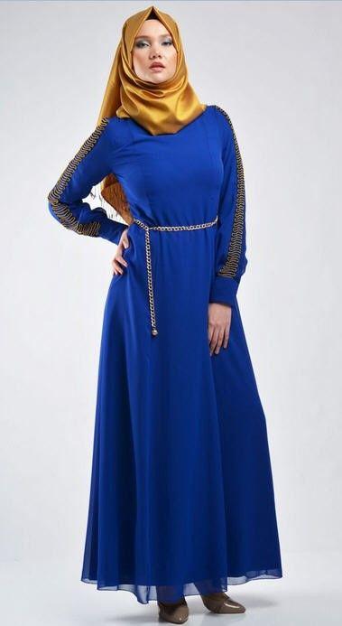 25 Contoh Gaun Pesta Hijab Paling Trendy 2018 Style Remaja Style