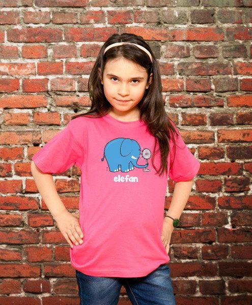 Elefan Funny TShirt Kids Gift Young Boys T shirt by store365