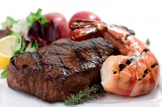 It is wise to choose smaller servings of more expensive tender cuts of meat, than large servings of tough steak. The taste is better as well.