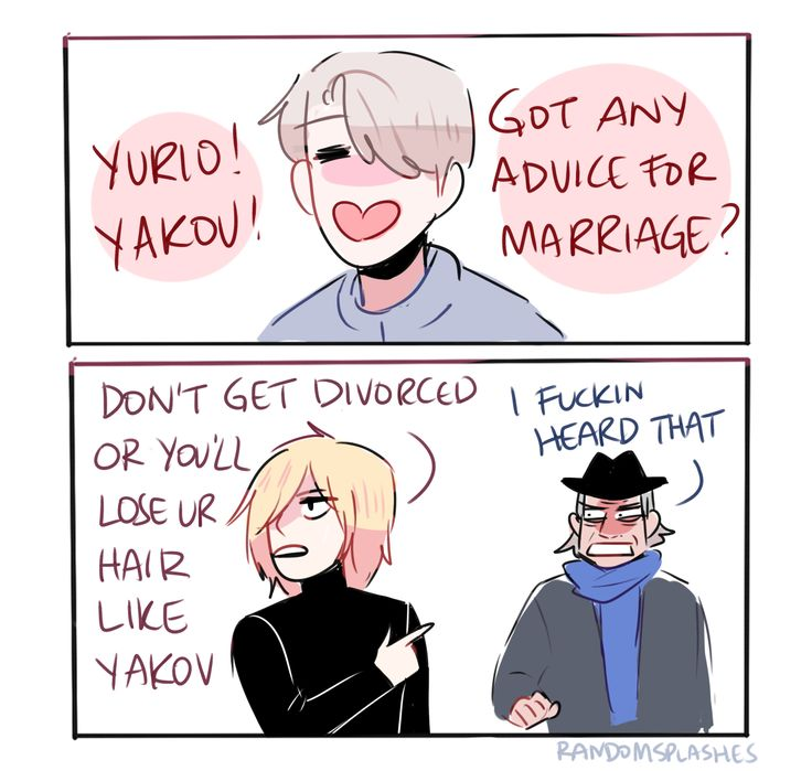 victor would totally be that person to ask his divorced former coach and a 15 year old for marriage advice lmao
