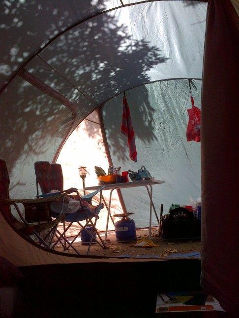 Onrus tent camping...