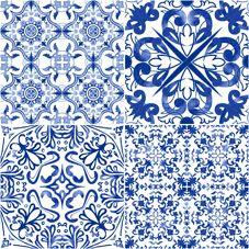 MILAN | CHINOISERIE | Face 6 | 40x40 | Wall & Floor Tile