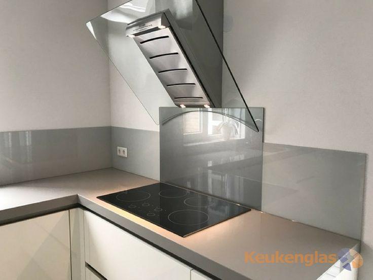 55 best Metallic glazen achterwand (RVS Look) - Metallic - wandpaneele küche glas