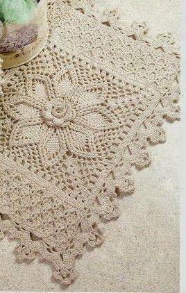 Entrelaçando Crochê: Pap do tapete branco
