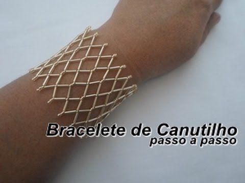 NM Bijoux - Bracelet Canutinho - step by step - YouTube