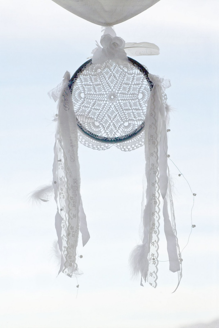 ethereal dream catcher DIY