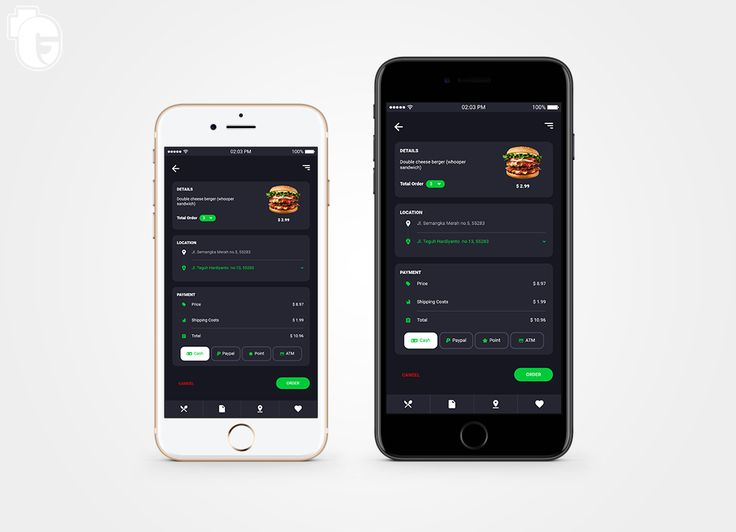 Design app concept order food 😆  follow my collections here : https://plus.google.com/u/0/collection/MMLOHE  #design #UI #mobile #Order