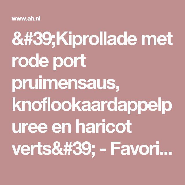 port-pruimensaus