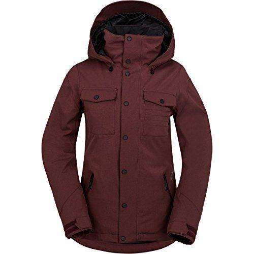Volcom Eagle Insulated Jacket - Women's Burgundy, XL