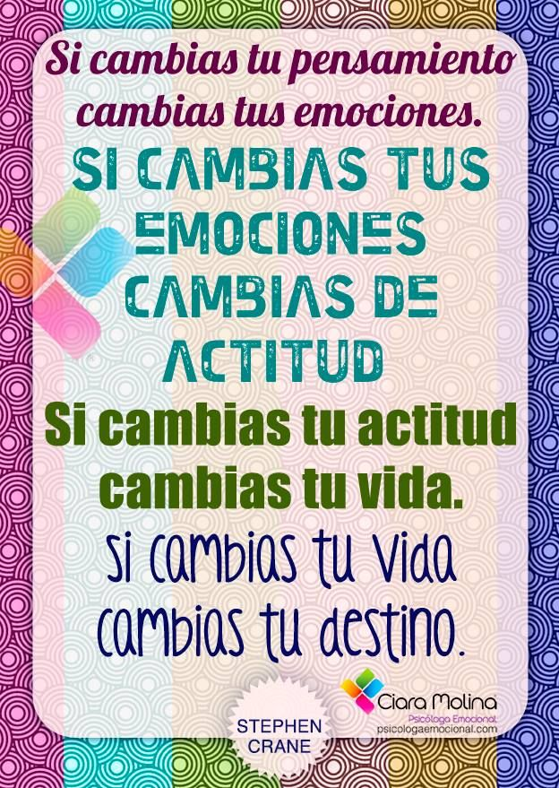 EL CAMBIO... (((Sesiones y Cursos Online www.ciaramolina.com #psicologia #emociones #salud)))