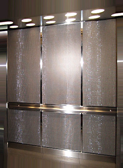 wire mesh for interior panels