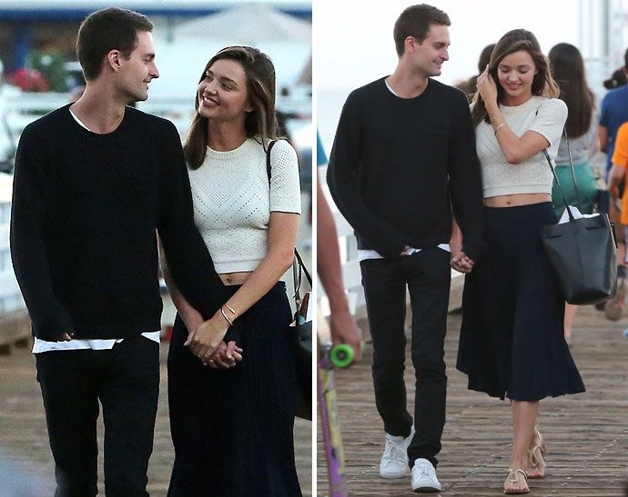 Evan Spiegel CEO Snapchat Pikat Janda Cantik Miranda Kerr
