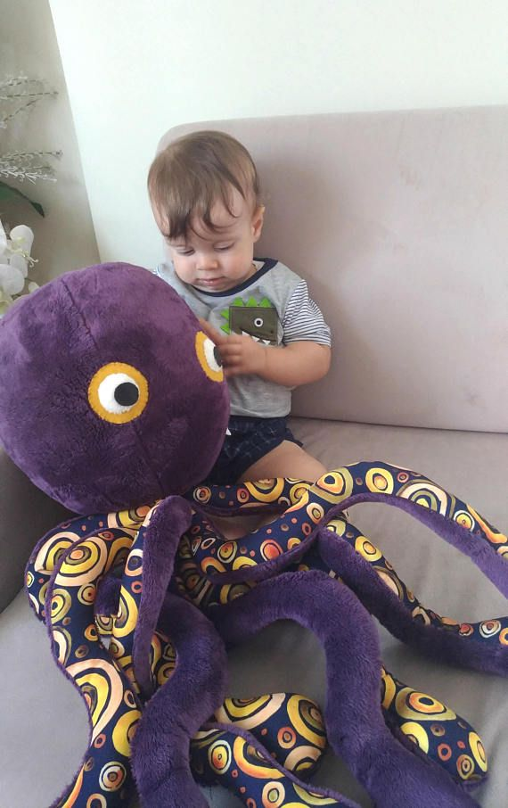 Christmas gift for kids octopus Stuffed animal Stuffed toy