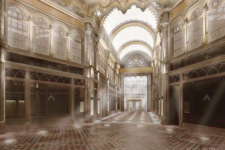 Index - Urbanista - Több tízmilliós kincset találtak a Párisi udvar felújítása során