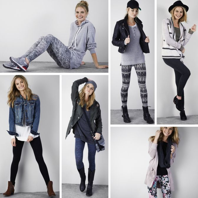 6 Different Ways to Wear Leggins | American Eagle Outfitters