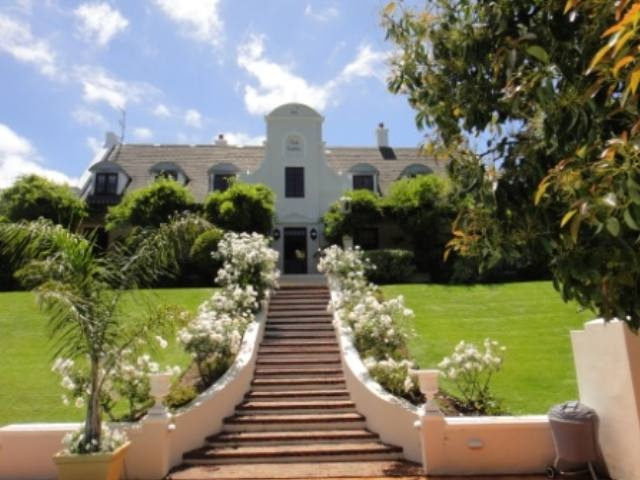 Eye catching example of Cape Dutch style in Constantia, Cape Town.