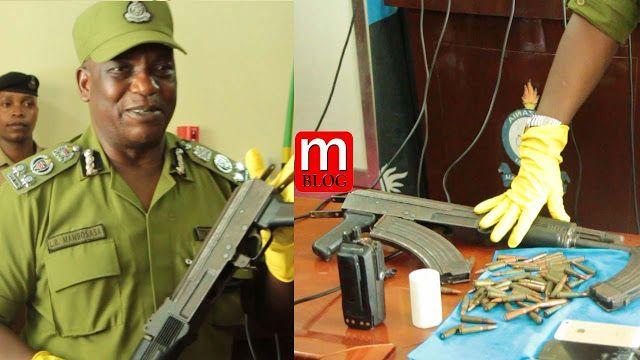 VIDEO: Polisi wamnasa komandoo wa Burundi akiwa na AK.47 akifanya matukio ya ujambazi