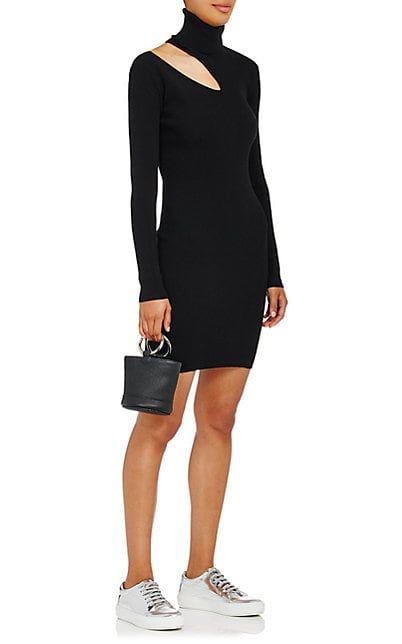A.L.C. West Rib-Knit Fitted Sweaterdress - Dresses - 505282302