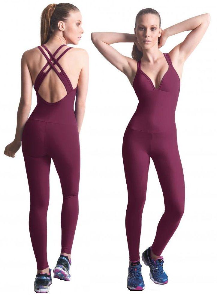Bia Brazil Lbl2917 Bodysuit Women Activewear Workout Wear -8360