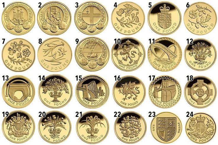 IF you've got a stash of old £1 coins then you could be sitting on a small fortune. There are currently 24 different £1 coin designs in circulation and with just five weeks to go until the new 12-s…