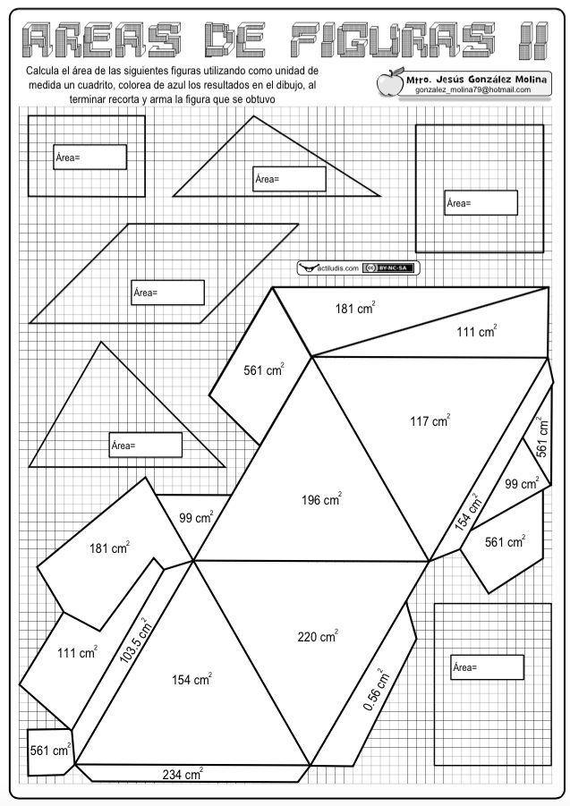 Areas figuras II                                                                                                                                                                                 Más
