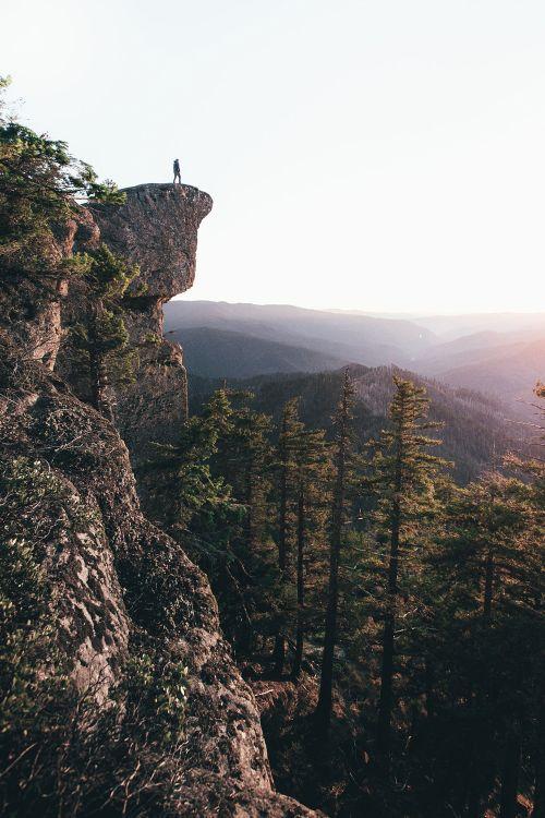 Wilderness Hiking Nature