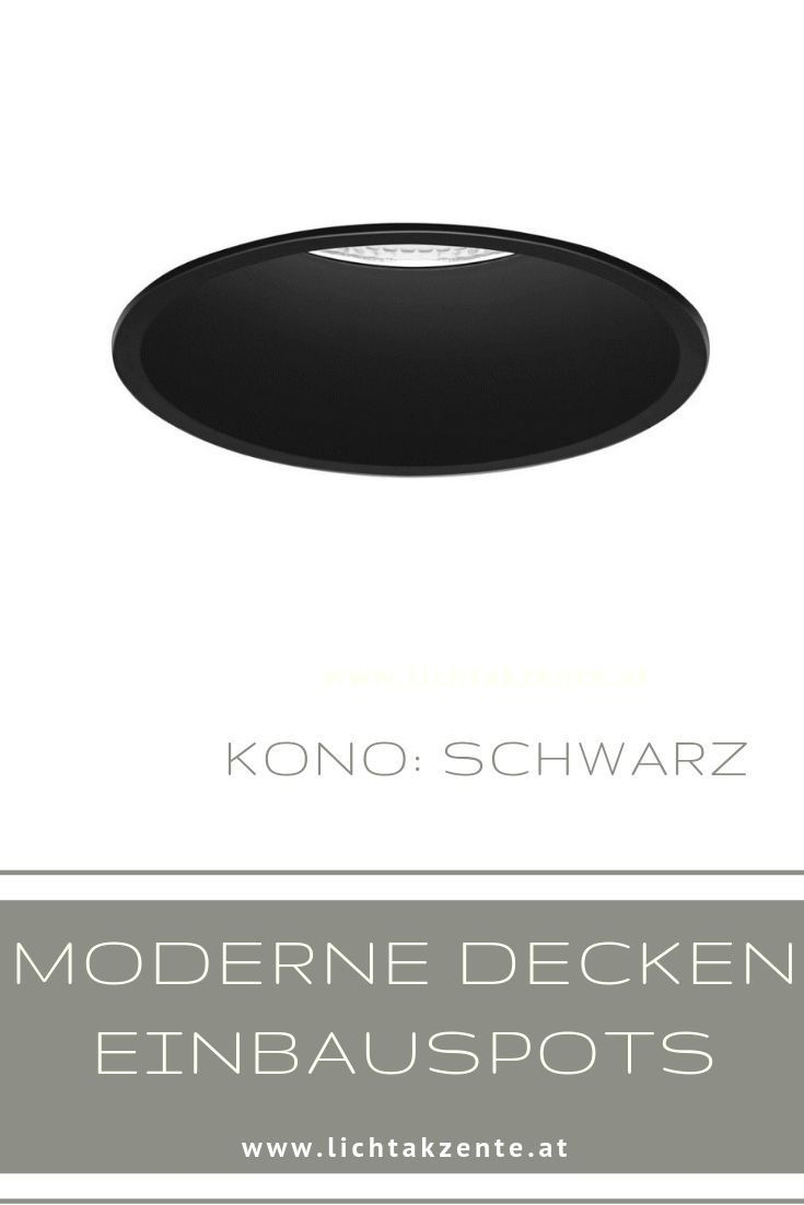 Runder Einbaustrahler Kono Gu10 In 2020 Einbaustrahler Beleuchtung Decke Und Einbauspots