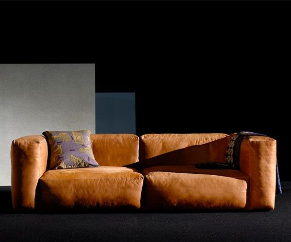 hay mags soft sofa silk l der for the home pinterest. Black Bedroom Furniture Sets. Home Design Ideas
